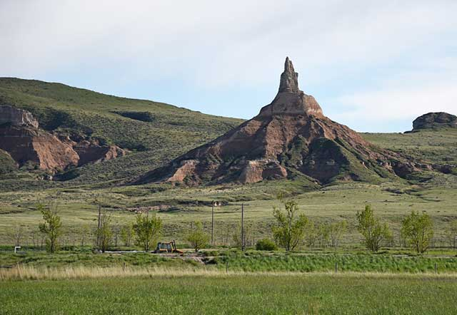 Chimney Rock Landscape