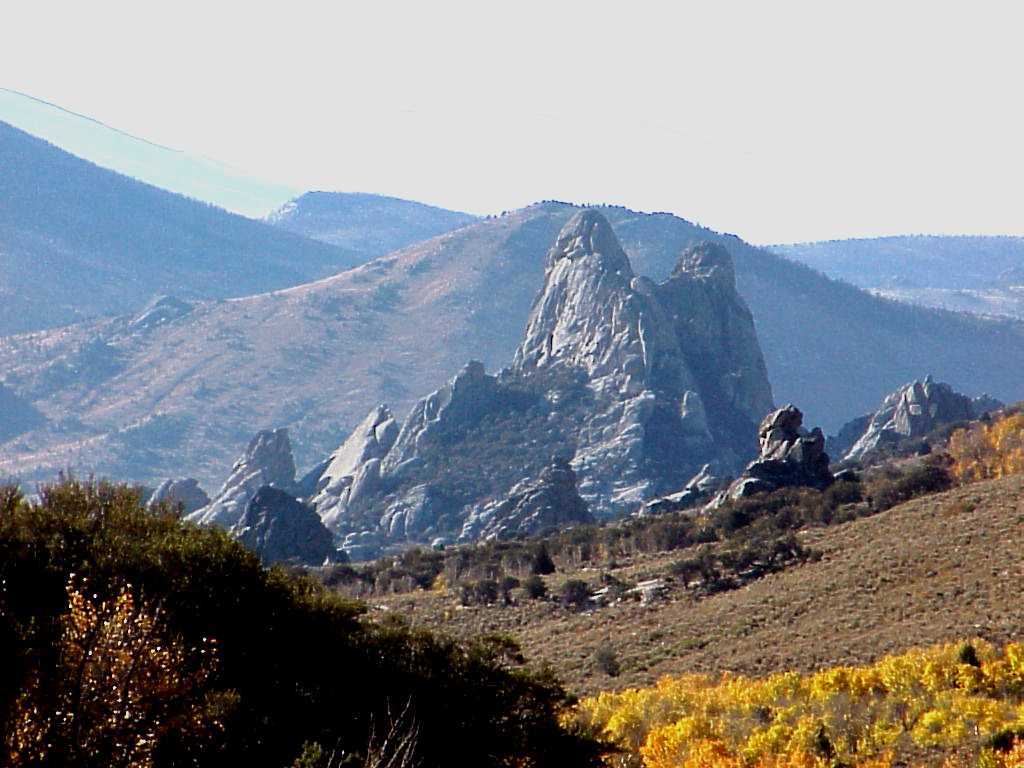 City of Rocks Geology