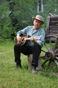 Join Hank Cramer on July 8 and enjoy songs from the California Trail and the Gold Rush.
