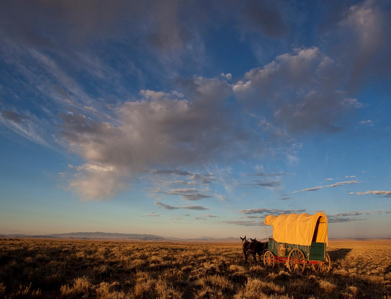 Join Ranger Greg on Feb. 17 and take a virtual tour of the California Trail. Photo by Bob Wick.