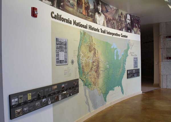 California Trail Exhibits