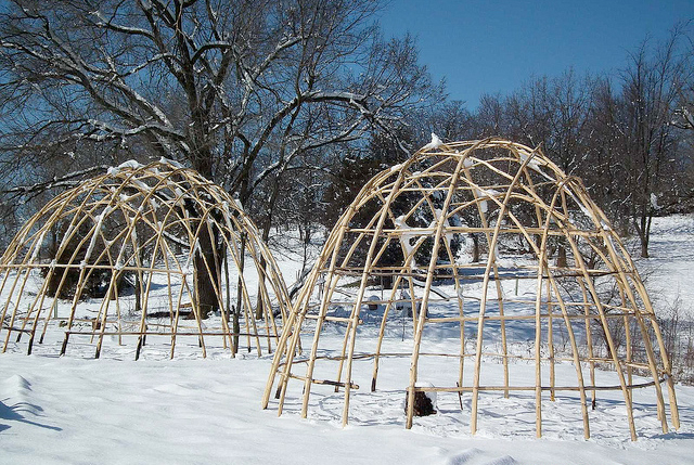 indian-lodge-frames-in-winter