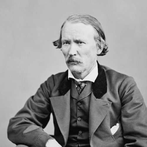 Restored Photograph of Kit Carson