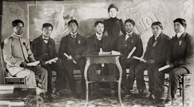 Stewart Indian School, Nevada First graduating class in 1901